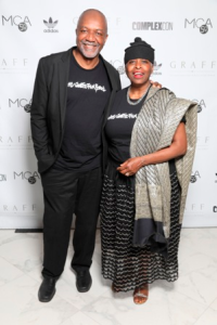 Kerry James Marshall and Cheryl Lynn Bruce