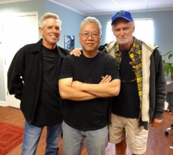 Playboy legends Tom Staebler, Richard Izui and Gary Cole