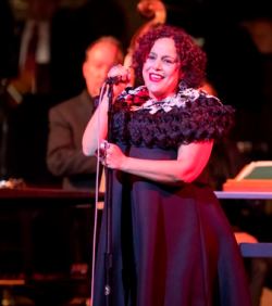 Chicago style icon Ikram Goldman performs with Pink Martini.