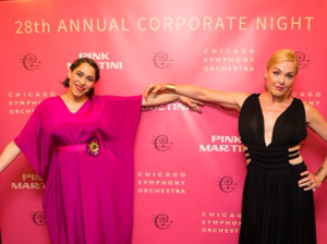 China Forbes and Storm Large of Pink Martini