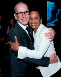 Shelley Washington, left, and Hubbard Street Artistic Director, Glenn Edgerton