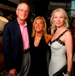 Michael and Donna Socol with Bulgari's Lyna Lengevych