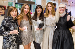 Rose Becker (co-founder Caroline Rose Inc. & advisory board member, AIBI), Catherine Joss, Caroline Becker-Joss, Madeline Joss, Lauren Lein