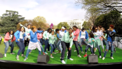 The Happiness Club performs at The White House!