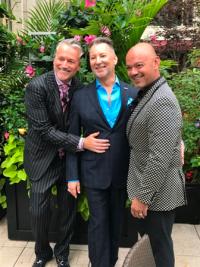 Mark Olley, Michael Caputo and Quenten Schumacher