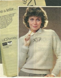 Early newspaper ad for JC Penney