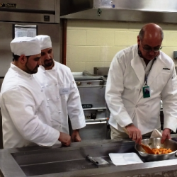 Bruno Abate, founder Recipe for Change, teaches inmates life skills through cooking and the arts