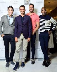 Zak Stemer, David Sanchez, cute guy and Ishan Johnson