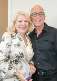 Jill Wine Banks and Jason Brett