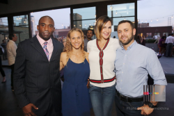 D. Anthony Evans, Amber Bobin, Tamara Holder and Scott Mayer