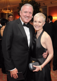 Joffrey Board Chair Zachary Lazar and wife Anne