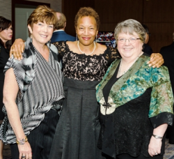 Sylvia Margolies, Beverly Price, Sue E. Wallace (Gala Chairs)