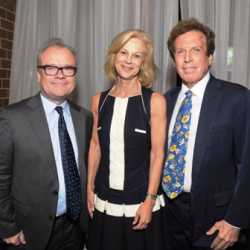 Chris Jones, Christie Hefner and Billy Marovitz