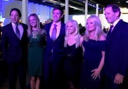 Pamella Roland DeVos and husband Dan DeVos (R) with their beautiful family