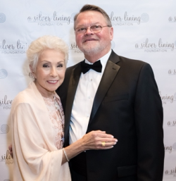 ASLF founder Dr. Sandy Goldberg and husband Greg Hines