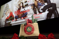 "Bump Club hosted a screening of ""A Bad Mom's Christmas"" at Music Box Theatre"
