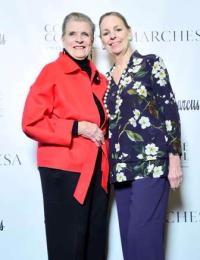 Nena Ivon and Abra Wilkin