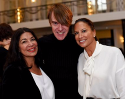 Dusty Stemer, Ken Downing (Neiman's Sr. VP/fashion director) and Toni Canada