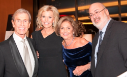 John Reilly, Cheri Lawrence, honoree Myra Reilly and Kevin Sullivan