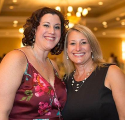 Jennifer Adler and Alissa Adler longtime friends and supporters of Save-A-Pet