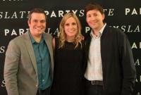 PartySlate's Mark Semon, Julie Novack, John Haro