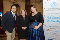 Executive chef Carlos Gaytan, Mary Ann Mahon Huels (ULBGC President & CEO) and Margaret K. Jahn (ULBGC trustee and gala co-chair)