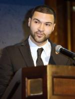 Alumnus Brandon Molina shared his personal journey