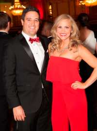 Matt Doyle and Amy Goldsmith
