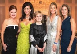 Mary Ellen Connellan, Elizabeth Ryan (co-chair), Dr. Michelle LeBeau, Karen McEniry (co-chair) and Kristi Nuelle