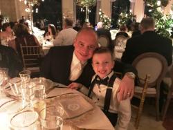 Rich Ciotta and his cute son