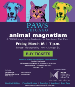 PAWS Chicago's Animal Magnetism on March 16