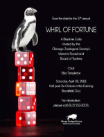 Whirl of Fortune for Brookfield Zoo on April 28