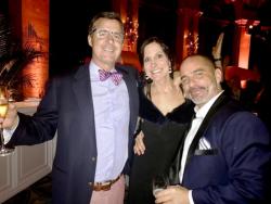 John Maher, Dina Bair and Erin McDonald
