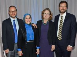 Zaher Sahloul, Suzanne Akhras Sahloul, Maria Woltjen, Steve Lehmann