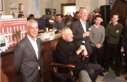 Chicago P.D. celebrates 100th episode with exec. producer Dick Wolf, the Mayor and Guv!