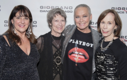 With Nan Giordano, Julie Johnson and Helen Melchior