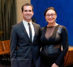 Flavio Gama and his beautiful wife Natalie Martinez