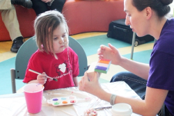 Painting Day at Lurie Children's hosted by 4Everly Adorned