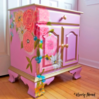 A chest from 4Everly Adorned's painted furniture collection