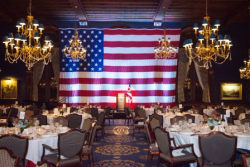 Union League Club decor