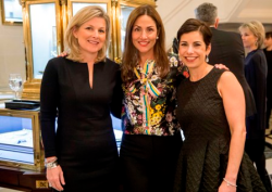 Debra Beck, Lindsey Axel, Eve Rogers (Graff Diamonds store director)