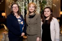 Michelle B. Larson (Adler president/CEO), Dr. Rosaly Lopes, Nathalea Espinosa