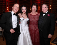 Andy Salk, event chair Elizabeth Jia, Marian and Jeff Jacobson
