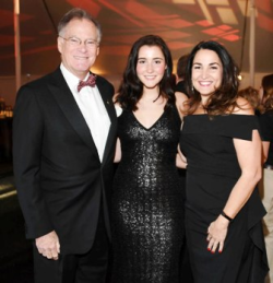 Joe Ahern, Ally Ahern, and CZS WB member Susan Ahern