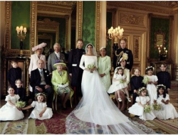 Meghan's mother, Doria Ragland, was the only member of her family to attend the wedding. (Photo by Alexi Lubomirski)