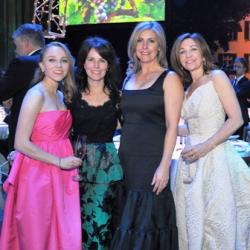 Jacqueline, Cheryl, Brandi and Erica Sandner (Photo by Dan Rest)