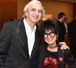 Arlen Rubin and wife Elaine Cohen (sponsors of Porchlight Music Theatre's New Faces Sing Broadway series)