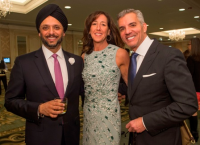 Jim Karas, Kanwar Singh and Wendy Berger