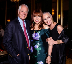 With Chuck and Maureen Schulman