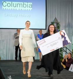 Student winner Lindsay Holeso